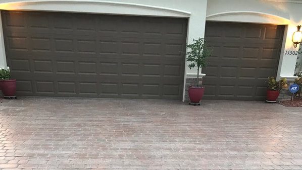 driveway in need of paver restoration